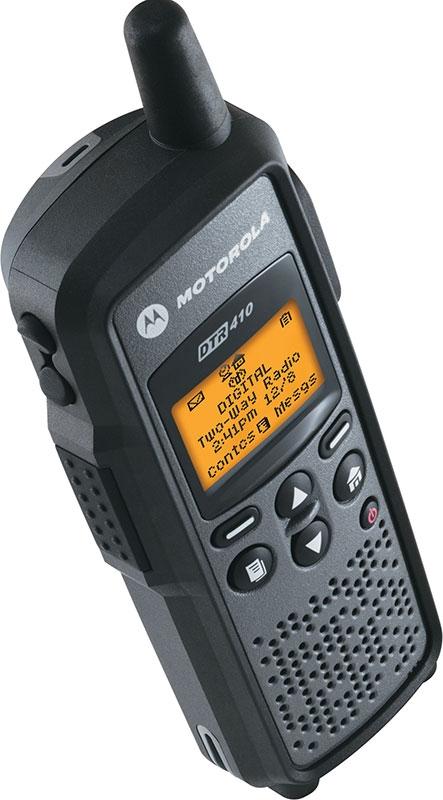 Motorola Two Way Business Radios DTR Series 410 550
