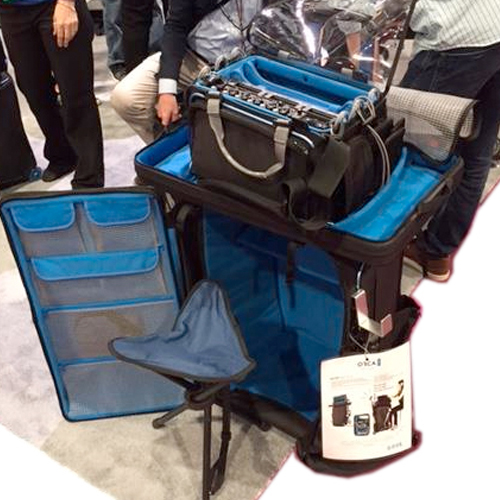 Orca Orcart Audio Accessory Bag With Extra Tray Wilcox