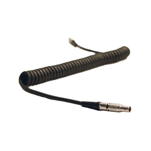 Wilco Custom Coiled Lemo 5-Pin to Lemo 5-Pin Time Code Cable ...