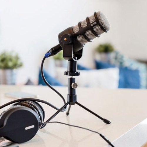 r de microphones podmic dynamic podcasting microphone wilcox sound and communications. Black Bedroom Furniture Sets. Home Design Ideas